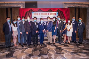 Our Chairman Peter Yip and advisor Gilbert Loke were invited to join the charity dinner by Hong Kong Inheritage Foundation