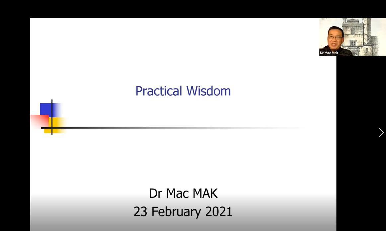 GLC Webinar – Practical Wisdom
